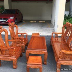 Bộ ghế gỗ cẩm lai phòng khách