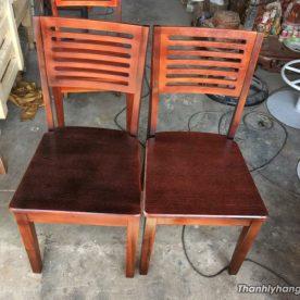Ghế gỗ nhà hàng thanh lý